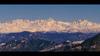 A Panorama Of Garhwal Himalaya From Dhanaulti