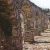 Roman Aqueduct At Cerdanyola Del Vallès