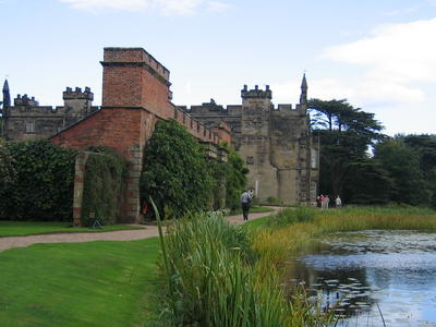 Arbury Hall With Hall Pool In Foreground