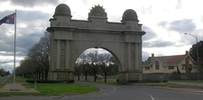 Victory Arch At The Entrance To The Avenue Of Honour