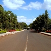 A Road In VTU Campus