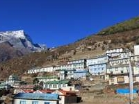 Arjun  Everest Base Camp Trek Pic Namche