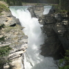 View Of Athabasca Falls