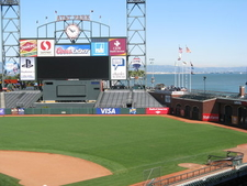 AT&T Park With Bay View
