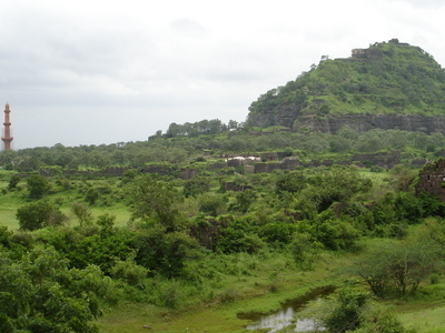 Daulatabad Fort -- Devagiri (Deogiri).