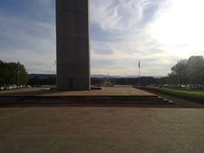 Australian American Memorial Towards Kings Avenue