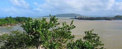 A View Of Baracoa Across The Bay
