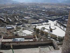 A View Of Gyantse From The Top Of Its Fortress