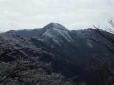 Mount Azami From Myojindani Valley