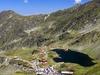 Balea Lake In Faragas Mountains - Transylvania