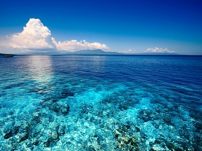 Bali Coast - Blue Shallow Sea