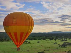 Balloon Flights in Maasai Mara Kenya Photos