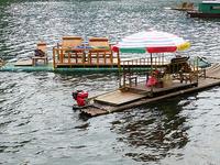 Kampot River Bamboo Rafting
