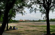 Sanam Luang In The Evening