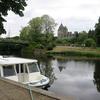 Banks Of The Canal De Nantes à Brest And The Château De Blain