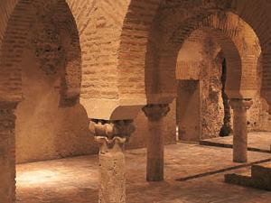Baños árabes - Palacio de Villardompardo