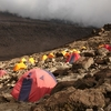 Barafu Camp On Machame Route - Kilimanjaro Tanzania