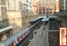 Barbican Station From The West