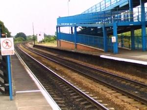 Barnetby la estación de tren