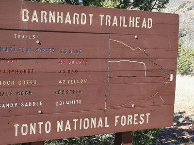 Barnhardt Trailhead Near Rye