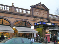 Barons Court Station