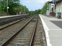 Barrhill Rail Station