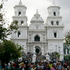 Basilica De Esquipulas Day Before The Annual Holiday Of Black Ch