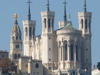 Basilica Of Notre-Dame De Fourvi