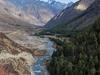 Baspa River Flowing Next To Chitkul