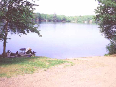 Bass Lake State Forest Campground (Luce)