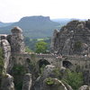 Bastei Bridge Within The Elbe Sandstone Mountains