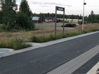 Bastutrsk Station