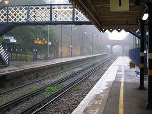 Batalla estación de tren
