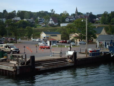 Bayfield From The Harbor