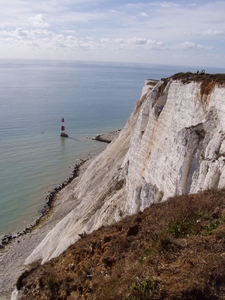 Beachy Head Lighthouse Under The Cliff