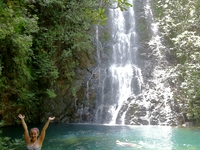 Becki At Butterfly Falls