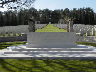 Becklingen  War  Cemetery  Altarstein