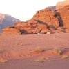 Beduin Camp Site In Wadi Rum