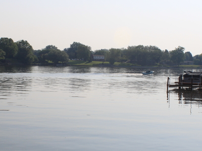 Belleville  Michigan  Edison  Lake Viewed From  Doane