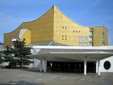 Entrance To The Berliner Philharmonie