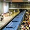 Berri UQAM Green Line Platform