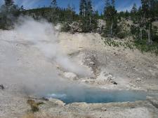 Beryl Spring - Yellowstone - USA