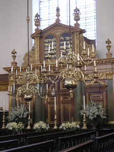 The Ark Of Bevis Marks Synagogue
