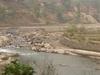 Bhote Koshi In Nepal During The Dry Season