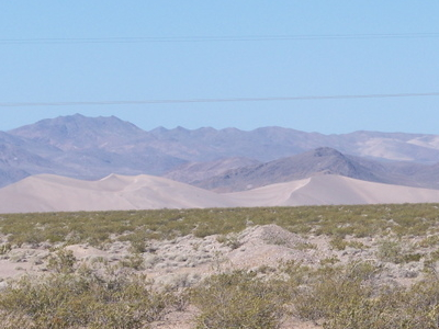 Big Dune In Amargosa Valley