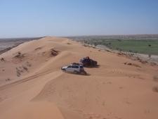 Big Red, Simpson Desert