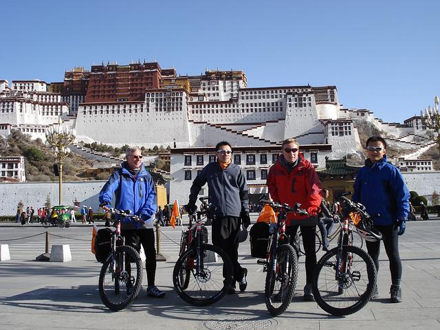 Lhasa to Kathmandu Mountain Bike Tour Photos