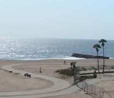 Bike Trails At Dockweiler Beach
