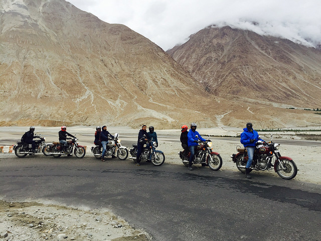 Leh Ladhak Bike Trip Photos