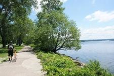 Biking Presque Isle State Park - Erie PA